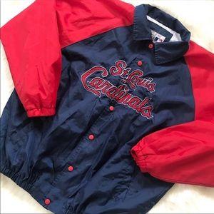 Other - St. Louis Cardinals Windbreaker Jacket Size Large